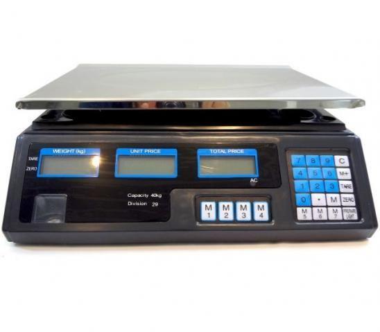 Balança Eletronica Digital 40kg Bivolt Mercado Dieta Fitness