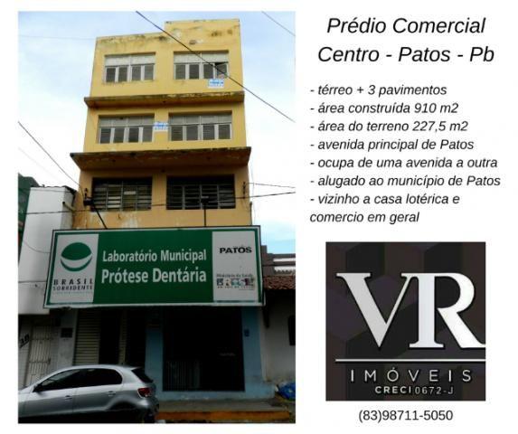 Prédio Comercial em Patos, térreo mais 3 pavimentos, Anº 5