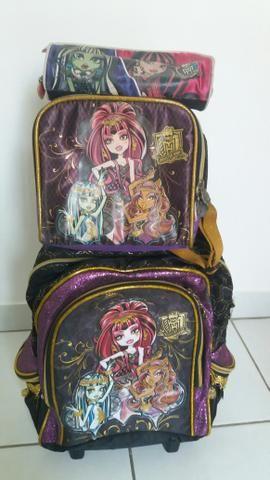 Mochila Escolar Monster High