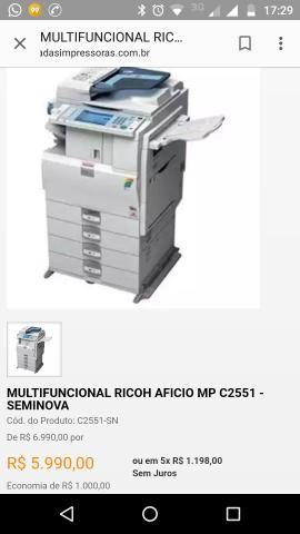 Multifuncional ricoh 2551