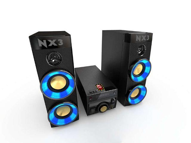 Mini system philips NX3