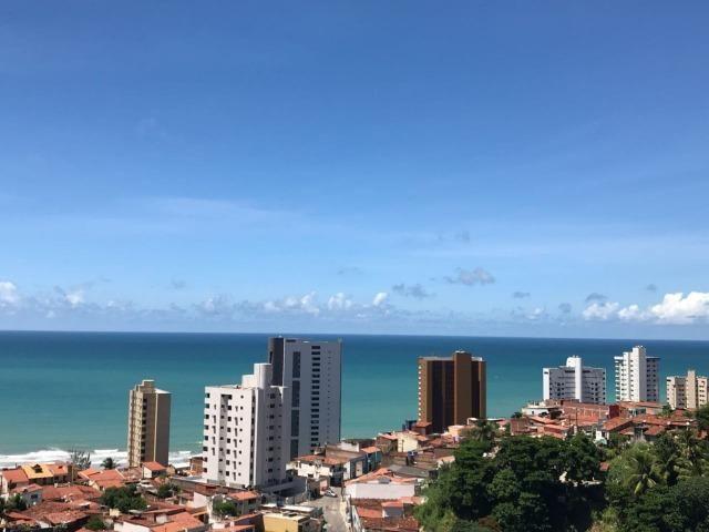 Oportunidade Apto em Petrópolis 98 m2 vista para o mar, andar alto