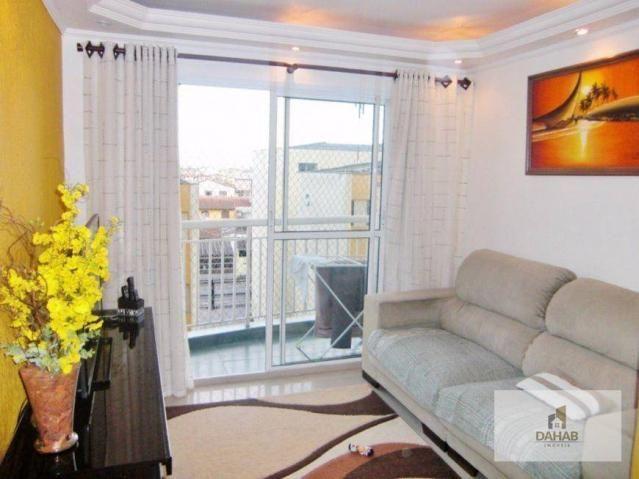Apartamento residencial à venda, Chácara Agrindus, Taboão da Serra.