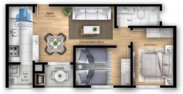 Excelente apartamento em Pinhais - Foto 2