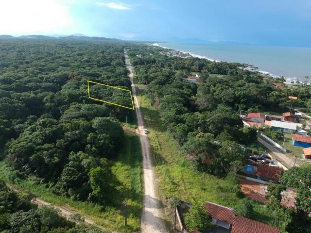 Terreno à venda, 375 m² por r$ 58.000,00 - rosa dos ventos - itapoá/sc
