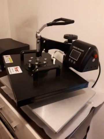 Prensa Térmica (Kit 10x1) para sublimação - Foto 2
