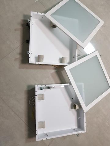 2 luminárias embutida - Foto 3