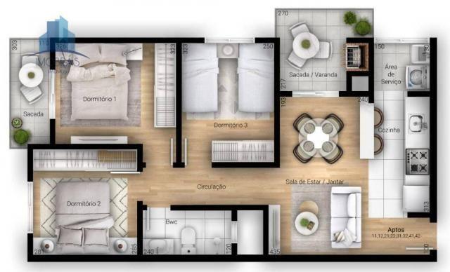 Excelente apartamento em Pinhais - Foto 8
