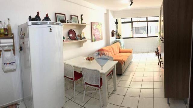 Apartamento com 1 dormitório à venda, 41 m² por r$ 230.000,00 - ponta negra - natal/rn - Foto 3