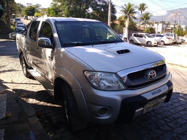 Hilux Turbo Diesel Srv 3.0 Automática 4x4 2010 - Foto 6