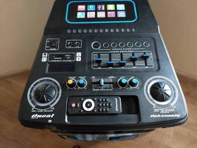 Apenas Venda ! Caixa Acústica Amplificada Oneal OPB-4000 DJ - Ótimo estado ! - Foto 3
