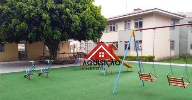 Apartamento com 3 dormitórios à venda, 54 m² por r$ 210.000,00 - capão raso - curitiba/pr - Foto 12