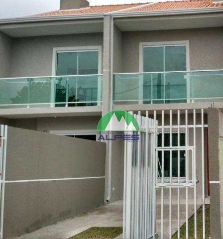 Sobrado à venda, 83 m² por R$ 225.000,00 - Cidade Industrial - Curitiba/PR - Foto 2