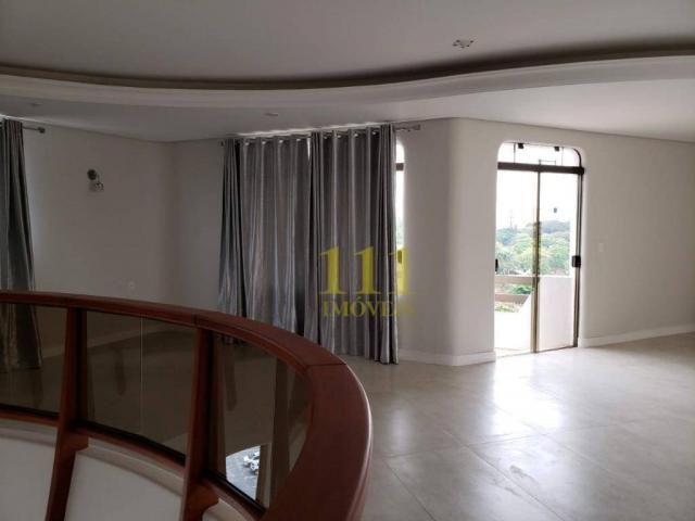Cobertura com 5 dormitórios à venda, 628 m² por r$ 1.800.000 - vila ema - são josé dos cam - Foto 10