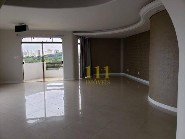 Cobertura com 5 dormitórios à venda, 628 m² por r$ 1.800.000 - vila ema - são josé dos cam