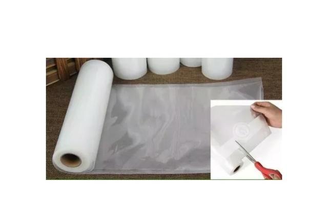 Caixa De Saco Embalagem Seladora A Vácuo Ranhuras 25cm