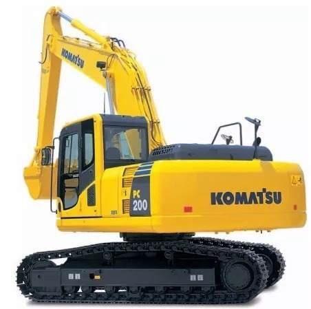 Escavadeira Komatsu Pc200 2019 - Pronta Entrega