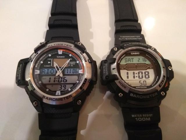 68eb300a2b6 CASIO SGW 400 e CASIO SGW300 - Bijouterias