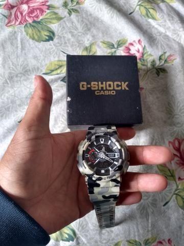 1790028ee4c G shock camuflado - Bijouterias