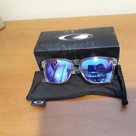 a2488b813 Óculos Oakley Catalyst Polished Clear Violet Iridium em João Pessoa-Pb.