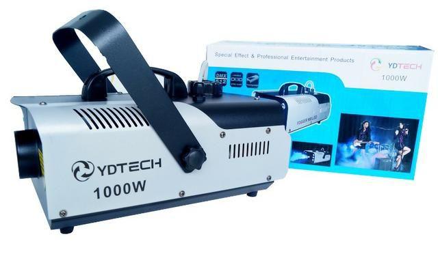 Super Maquina Fumaça 1000w 110v Dj Compativel Mesa Dmx Dj Ydtech-SKU: 80145 - Foto 5