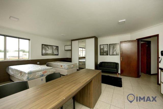 Apartamento com 1 dormitório para alugar, 45 m² por R$ 1.500,00/mês - Centro - Foz do Igua - Foto 2