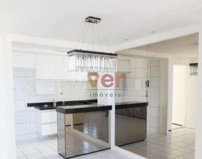 Apartamento à venda, 56 m² por R$ 259.000,00 - Alagadiço Novo - Fortaleza/CE - Foto 8