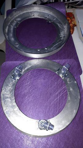 Suporte de Botijão em Alumínio Fundido ? 49,99 ZAP: *