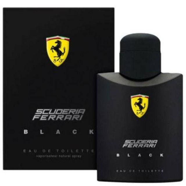 Perfume Ferrari Black Masculino 125ml Eau De Toilette