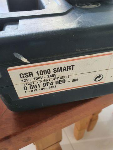 Parafusadeira bosch Gsr 1000 smart