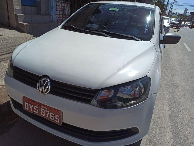 TAXI RECIFE VOYAGE 2014 1.6 COM GAS (carro e praça transferivel)