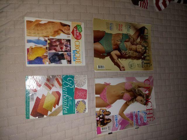 Revistas de crochê variadas - Foto 3