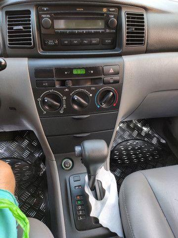 Corolla XEI 2008 azul flex automático completo - Foto 6