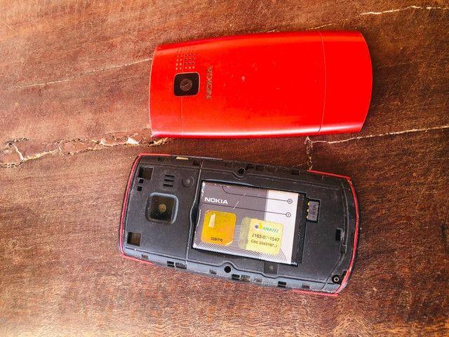 Nokia X2-01<br><br>Vermelho  - Foto 2