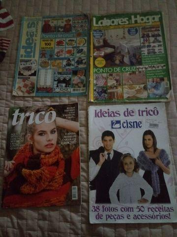 Revistas de trico variadas