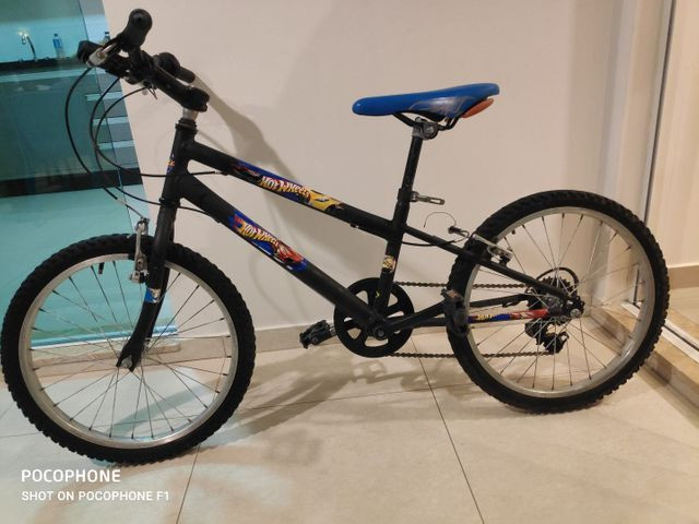 Bicicleta Caloi Hot wheels aro 20 - Foto 2