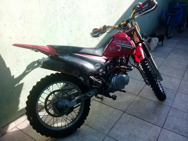 Xtz com motor 150 partida elétrica - Foto 4