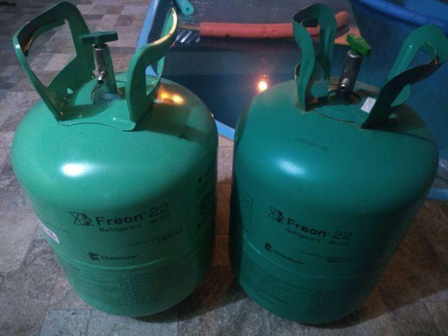 Garrafa de gás r22 - Foto 2