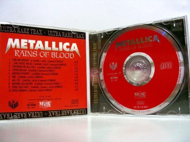 CD Metallica Rains of Blood - Foto 3