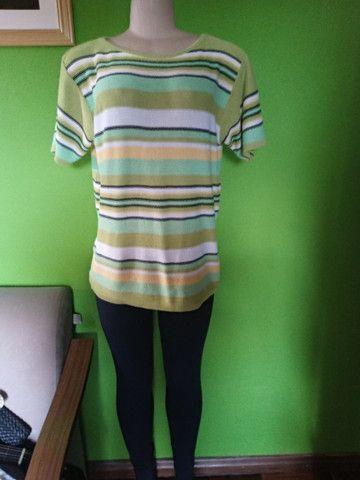 Blusa/Camisa Linha & Cores - G - Foto 5