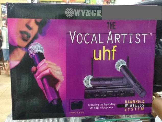 Microfone Sem Fio Uhf Wvngr Sm 58 Bivolt Igreja - Foto 2
