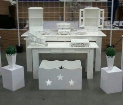 Mesa provençal branca