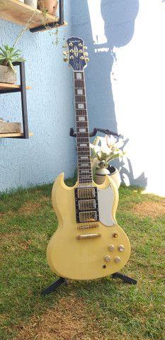 Guitarra Epiphone Les Paul Custom