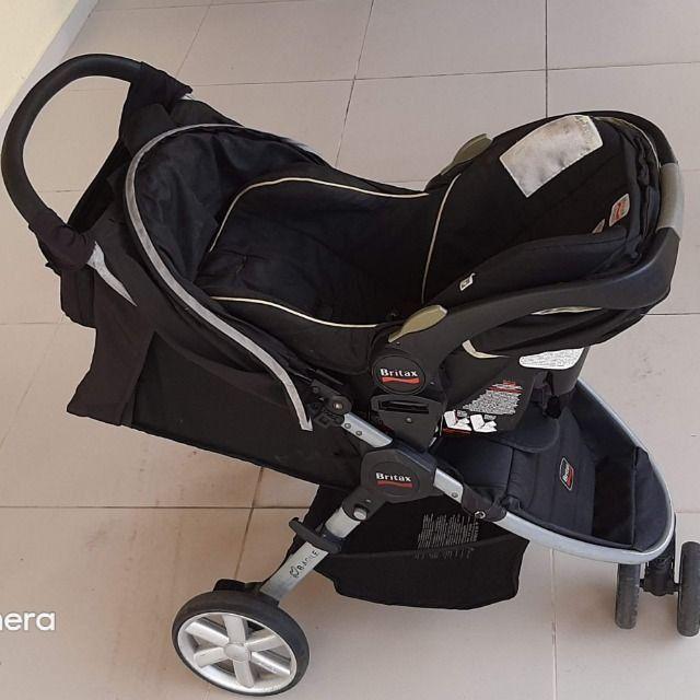 Carrinho + Bebê Conforto Importados - Foto 2
