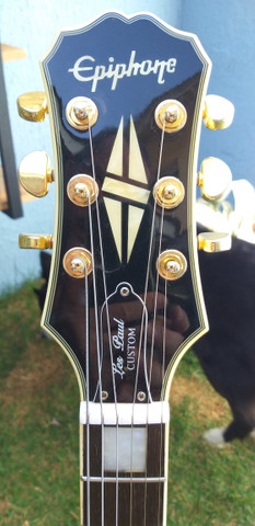 Guitarra Epiphone Les Paul Custom - Foto 2