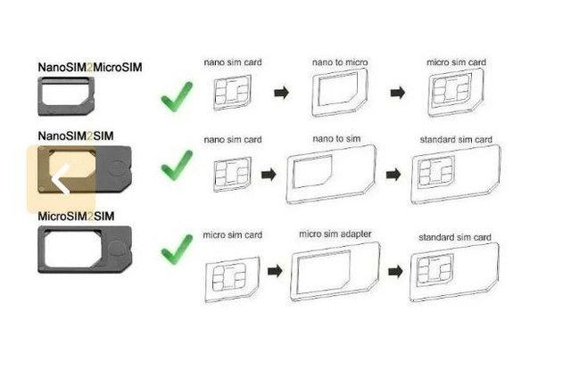 Adaptador de chip para celular/ Nano Sim Carde - Foto 4