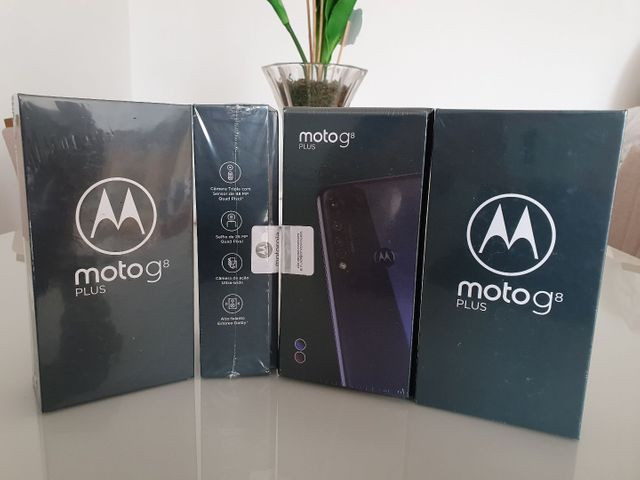 Motorola G8 PLUS 64GB LACRADO COM NOTA