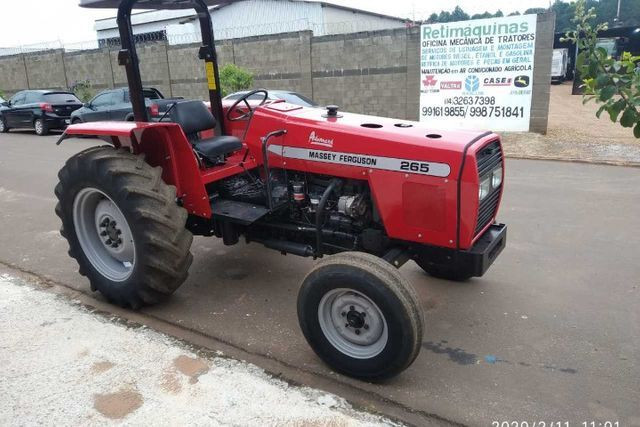 Trator 265 Massey Ferguson - 06/06 1029
