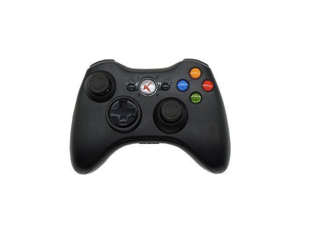 Controle Xbox X360 Knup Kp-5122 Sem Fio