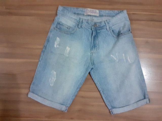 Camisao jeans infantil - tam 12 - Foto 5